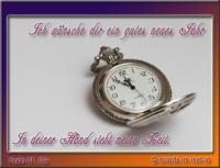 Ich wünsche dir ein gutes neues Jahr Psalm 31, 16a In deiner Hand steht meine Zeit.
